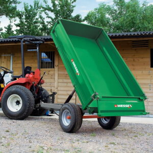 ctl tipping trailer adjust