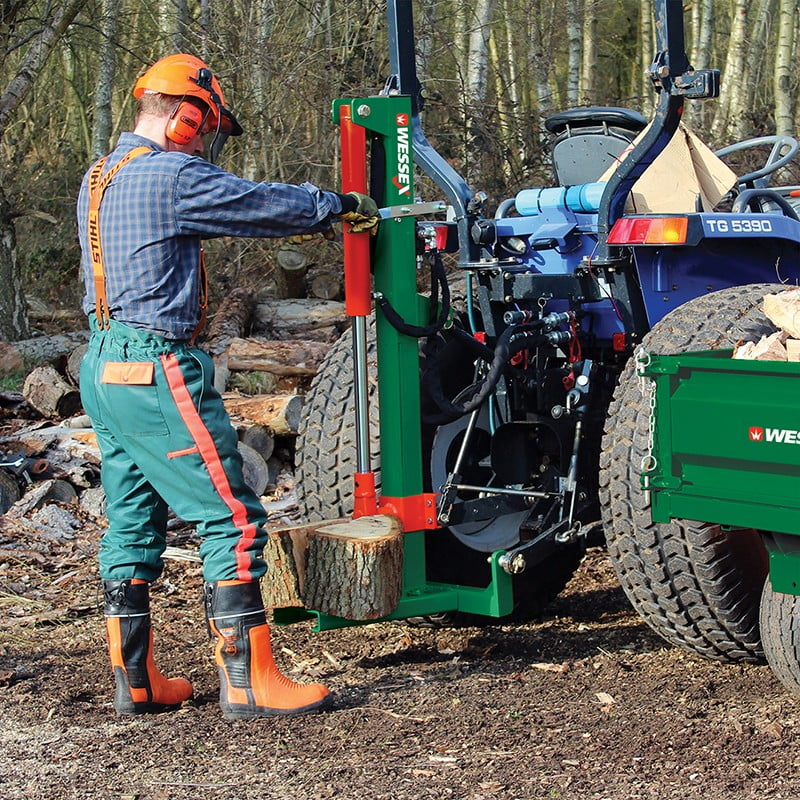 LS-100 hydraulic log splitter