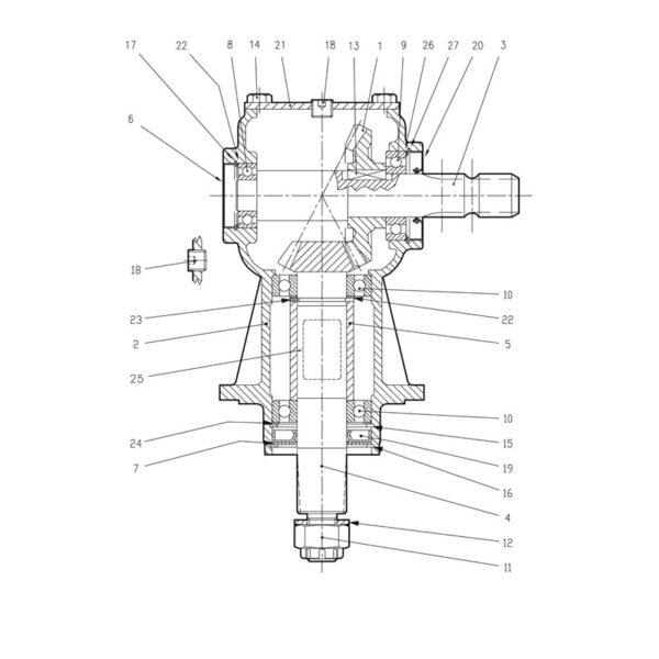 Crown Gear Z23 M5-0