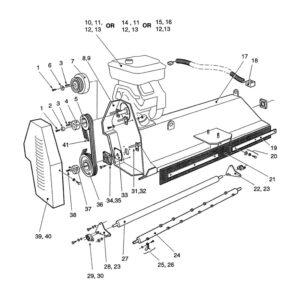 AF & AFC-160 Mainframe Assembly