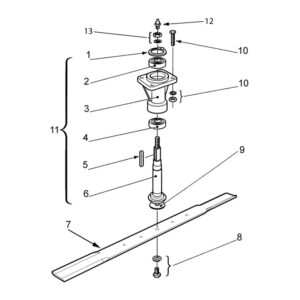 AT-110 Spindle Assembly