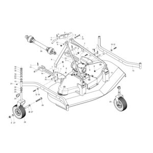 CM120 - 150 - 180 Wheel Assembly
