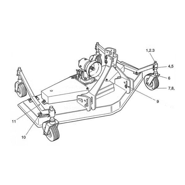 CR18/4 Wheel Arm -0