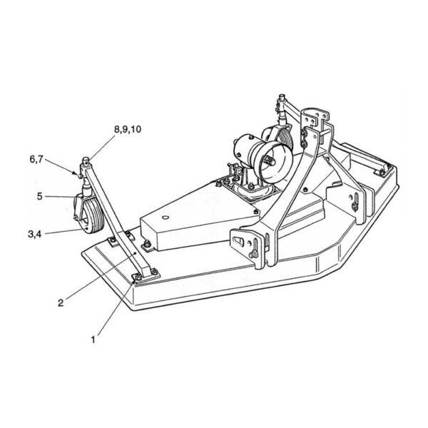 CR24/4 Wheel Arm -0
