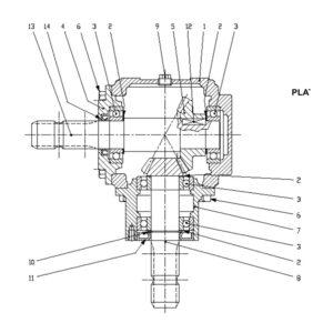 STC/STX-120 Gearbox