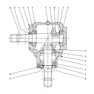 STC/STX-180 Gearbox