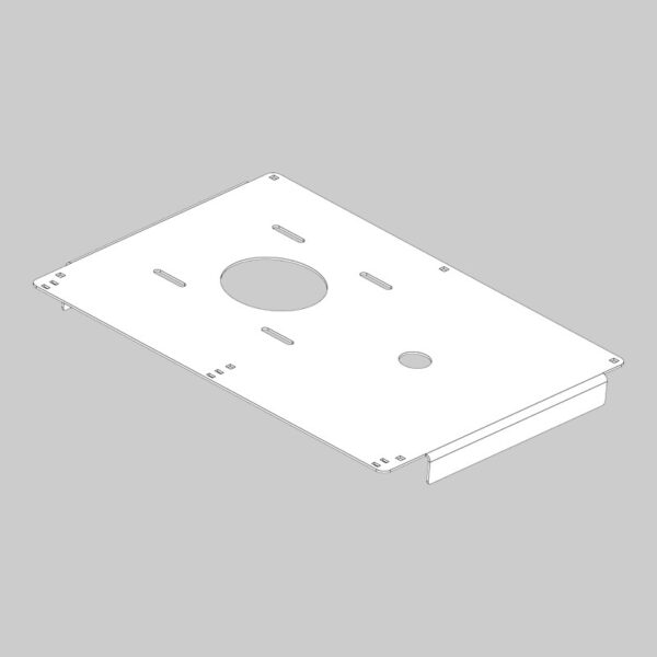 At-110 engine mount plate