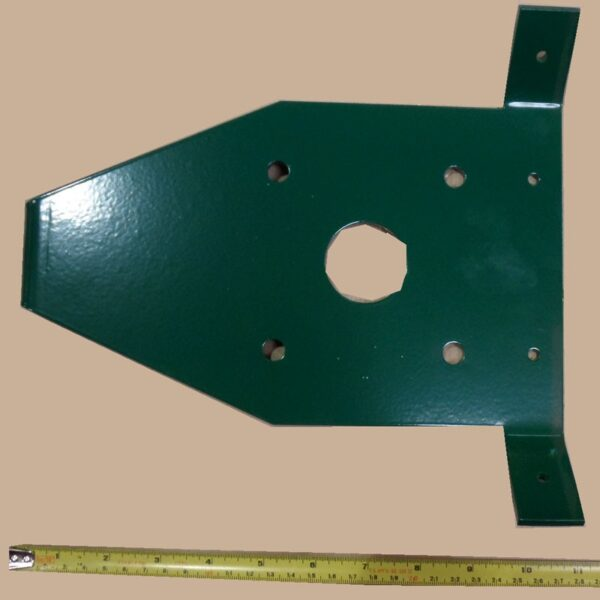 Tensioning plate