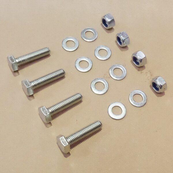 Bearing fastening set