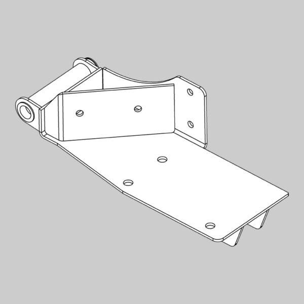 Front Roller Base - Left Hand -0