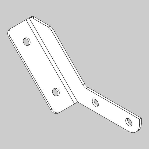 Light bar bracket - right hand
