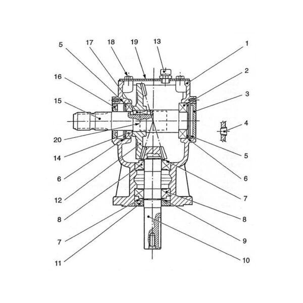 Rmx 500 deck gearbox 1 6