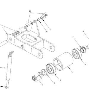 RMX-500 TENSIONER ARM ASSEMBLY
