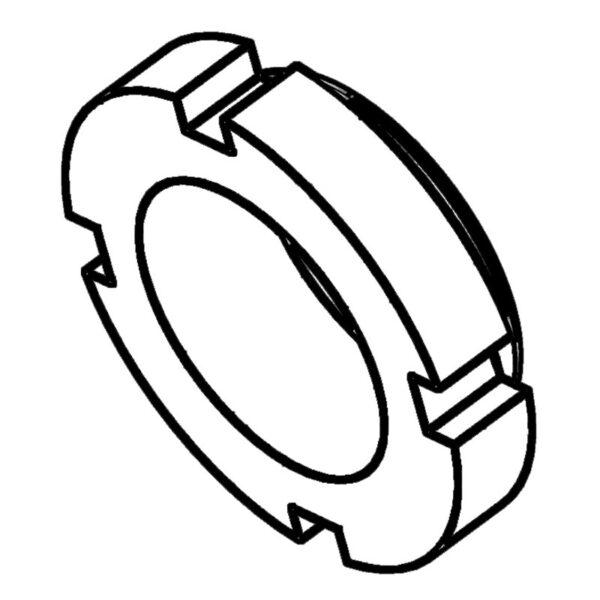 M30 C nut for threaded pins RMX