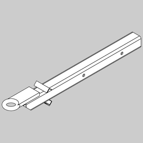 Wing pivot pin