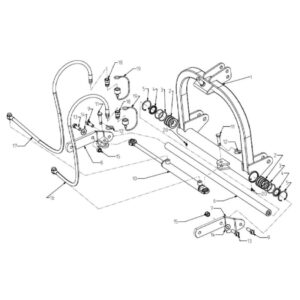 WFM 145/160/175/205/220 - 3 Point Mast Hydraulic Assembly