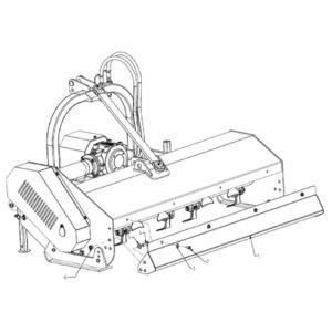 WFM 145/160/175/205/220 - Rear Cover Standard