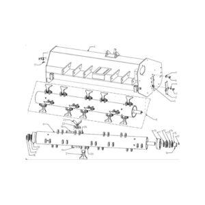 WFM 145/160/175/205/220 - Main Frame & Rotor Assembly