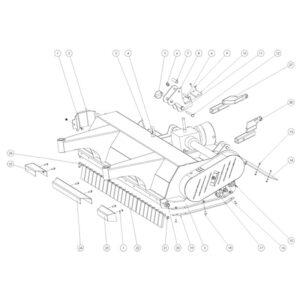 FRX 150 - Body Assembly Plate 1-0