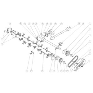 FRX 150 - Drive Assembly Plate 2