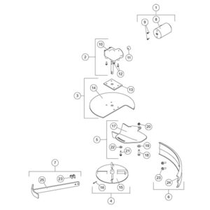 SP-1575-1 Spinner Assembly & Material Chute