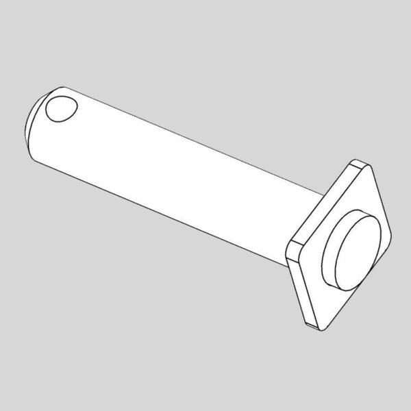 Wessex wx-14428 crx320 rear linkage pivot pin-0