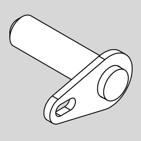 Wessex wx-14628 pin - hydraulic ram crx 320 100mm-0
