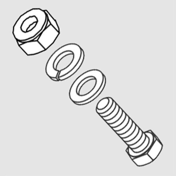 Wessex WX-36501 Pull Plate Fastening Set-0
