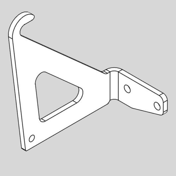 Wessex wx-46880 deck guide hook lhs-0