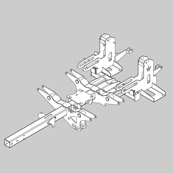 Wessex wx-5291 crx 320 full chassis assembly-0