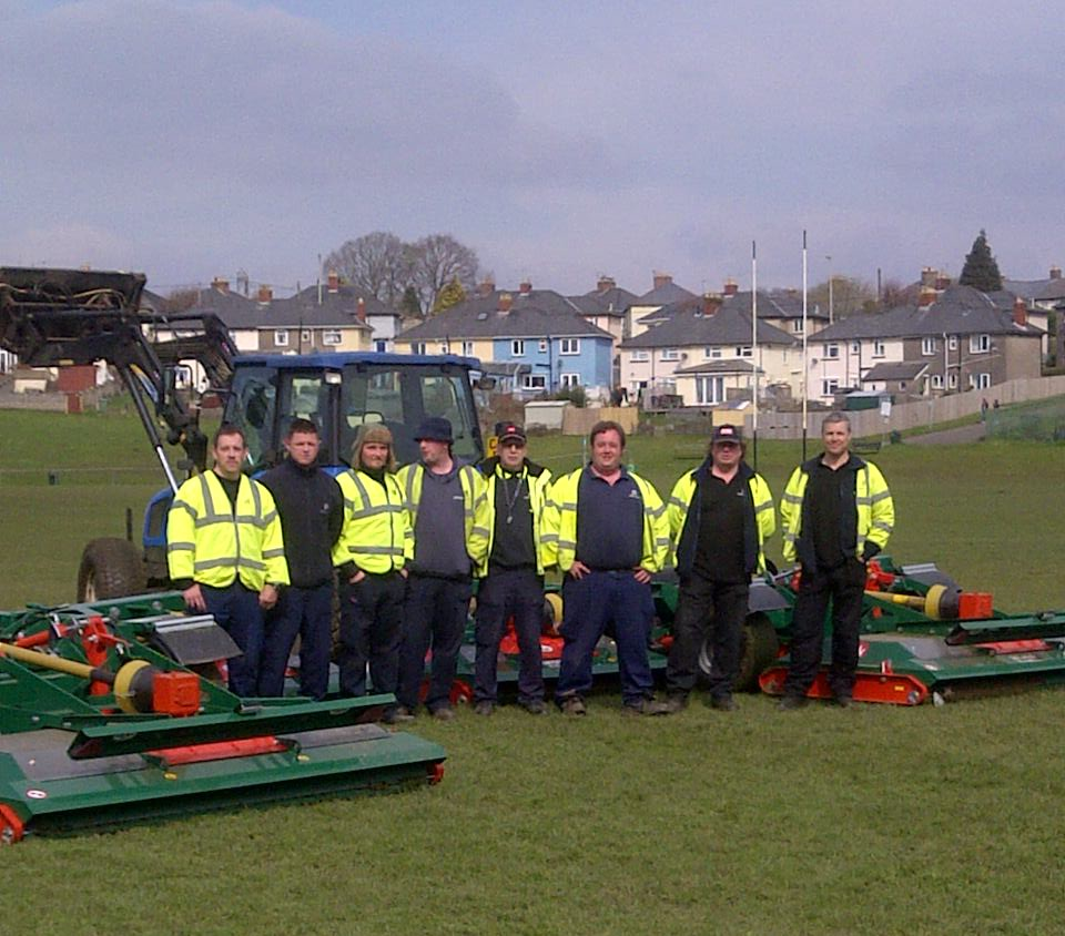 Rmx 560 install1 - professional groundcare & agricultural equipment