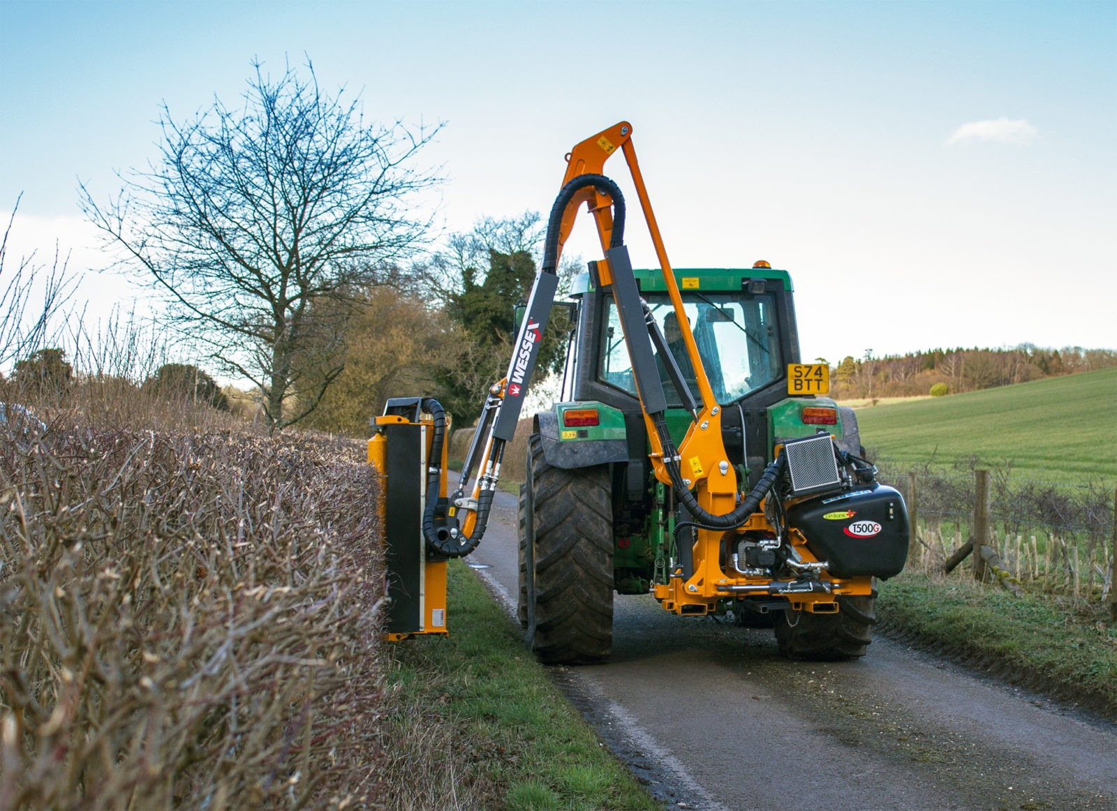 T500 g working 1 - professional groundcare & agricultural equipment