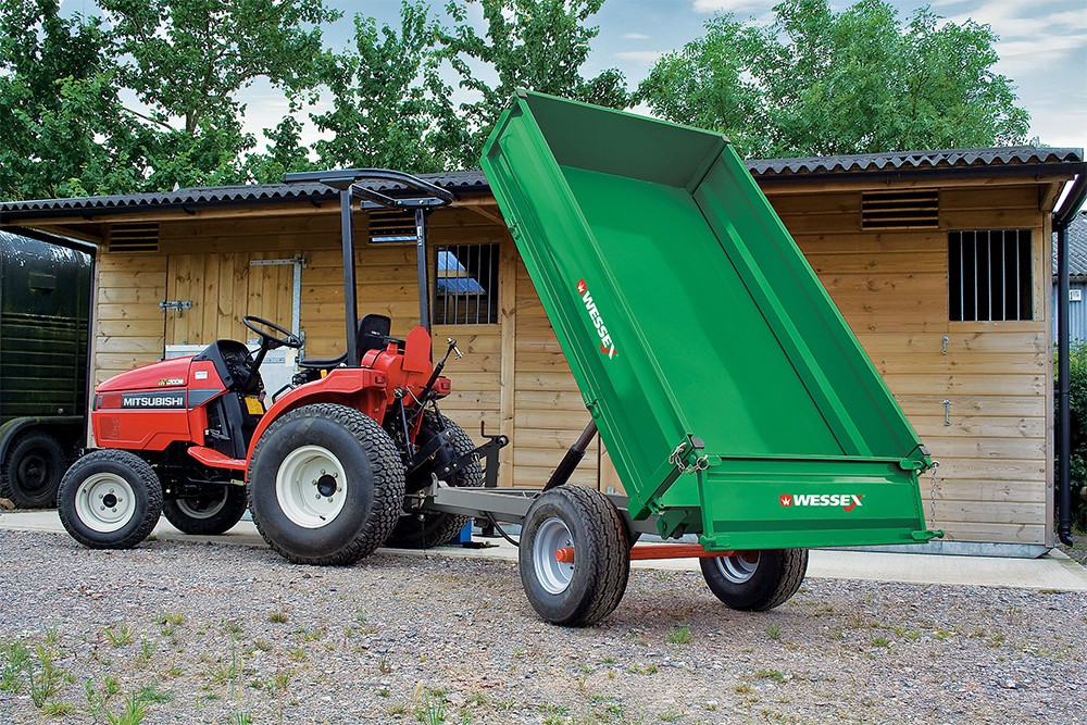 Trailer - professional groundcare & agricultural equipment