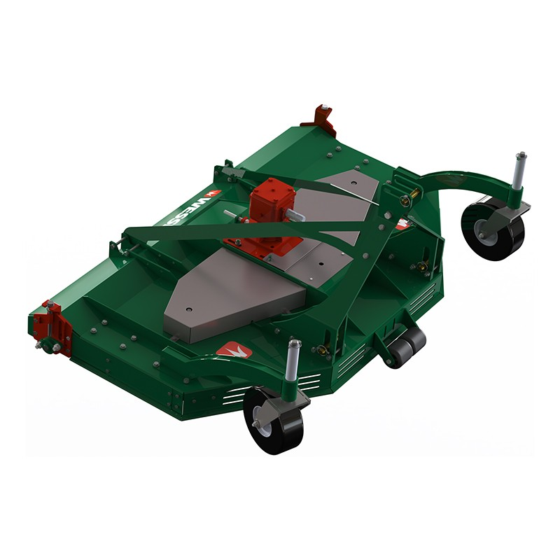 Crx 18 render top view f wheels r rollers - professional groundcare & agricultural equipment