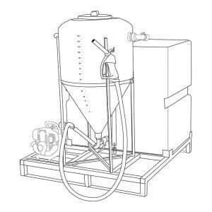 Wessex Brine Mixer 500L
