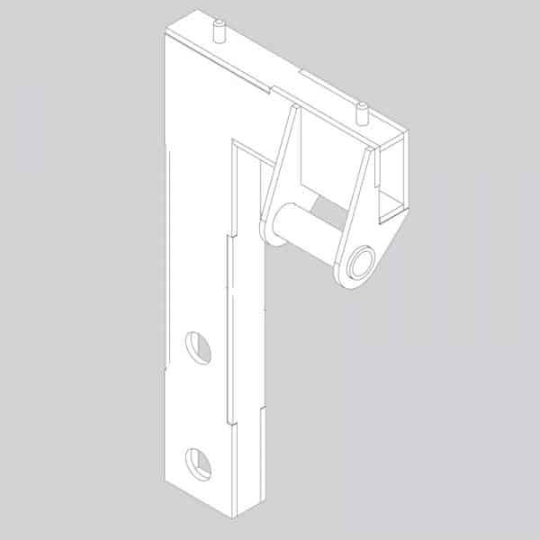Wx 13879 tensioner mount