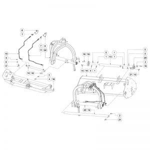 WFM 200/225 HD - Hydraulic Side - Shift Assembly
