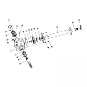 rc120 gearbox assembly