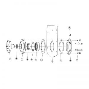 rc120 non drive assembly