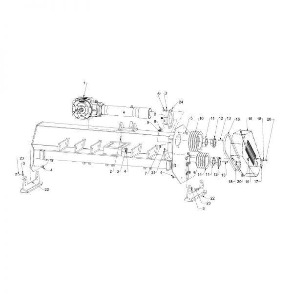 Wfm transmission skid 16