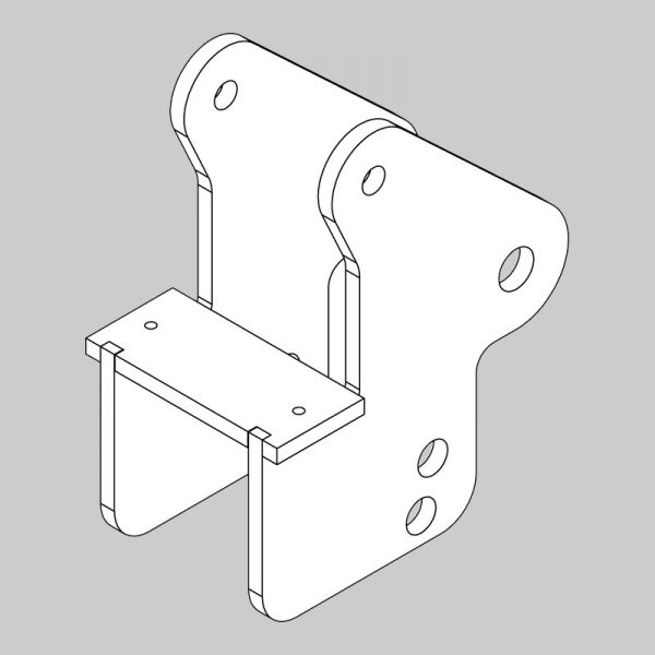 Tractor bracket fabrication (frx)