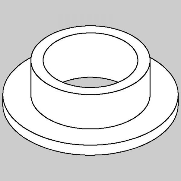 Wessex wx-13128 top hat bush for crx/rmx float pins-0