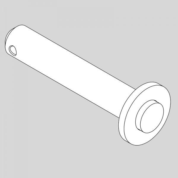 Wessex wx-14128 rmx triple float rear deck ram pin-0