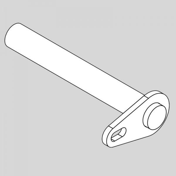 Wessex wx-14228 pin - hydraulic ram-0
