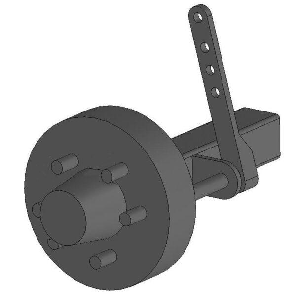 Rmx braked hub complete