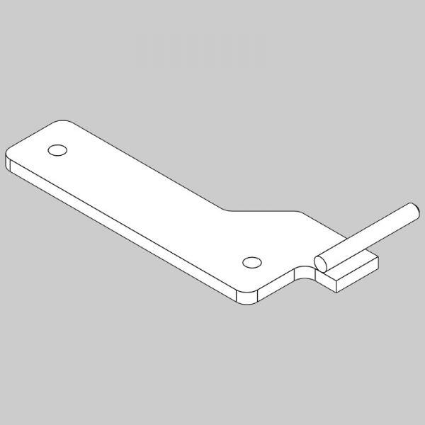 Wessex wx-17458 rear ram mount bracket-0