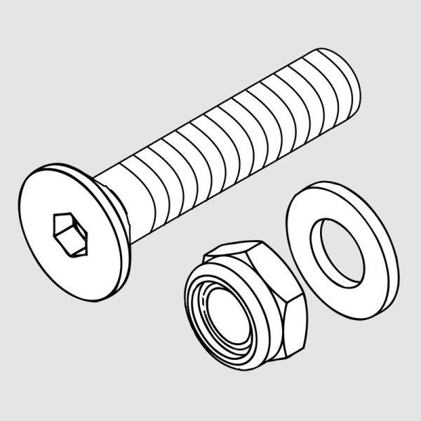 Wessex wx-36001 pin fastening set-0